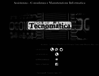 tecnomatica.biz screenshot