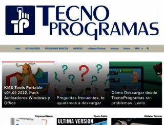 tecnoprogramas.com screenshot