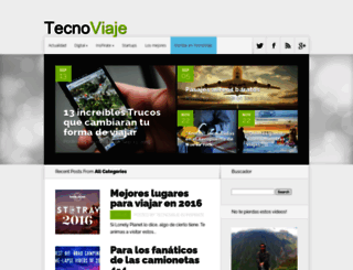 tecnoviaje.com screenshot