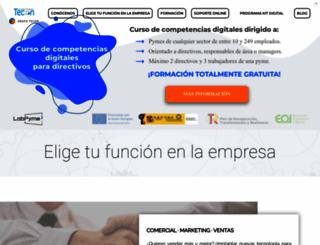 tecon.es screenshot