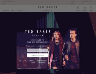tedbakerblog.com screenshot