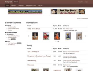teddy-talk.com screenshot