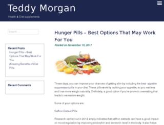 teddymorgan.com screenshot