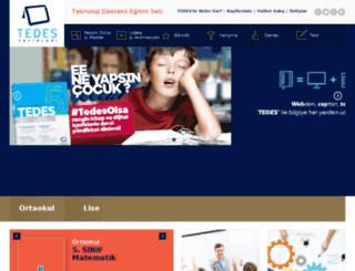tedes.com.tr screenshot