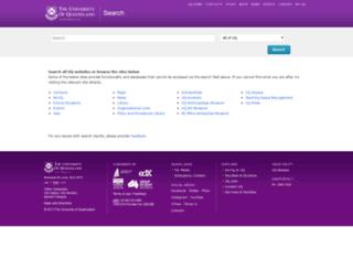 tedi.uq.edu.au screenshot
