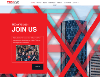 tedxyyc.com screenshot