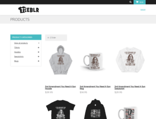 teeblr.com screenshot