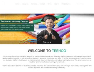 teehoo.org screenshot