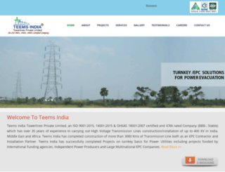 teemsindia.com screenshot