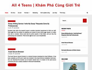 teen.vn screenshot
