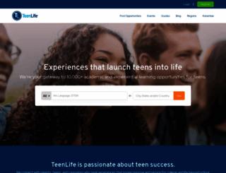 teenlife.com screenshot