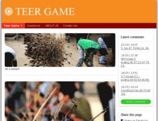 teergame.simplesite.com screenshot