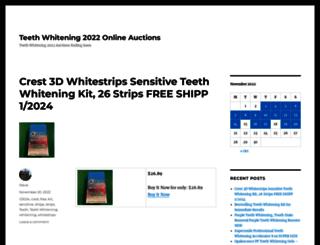 teethwhitening.topbidswipe.com screenshot