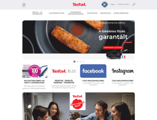 tefal.hu screenshot