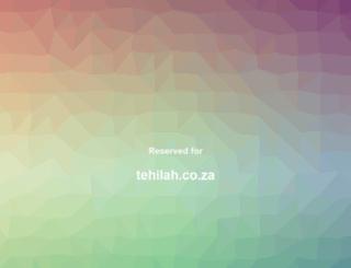 tehilah.co.za screenshot