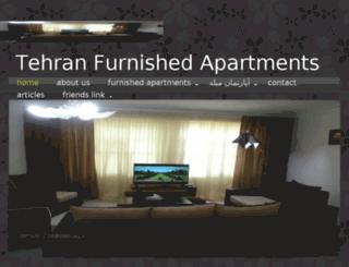 tehran-lux-furnished.com screenshot