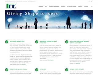 tek.com.tr screenshot