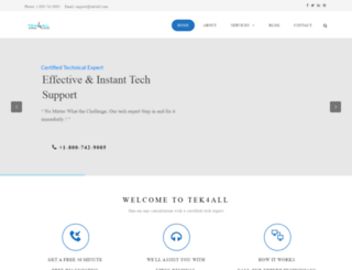 tek4all.com screenshot