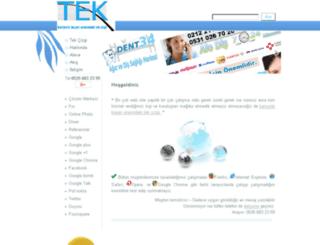 tekcizgi.com screenshot