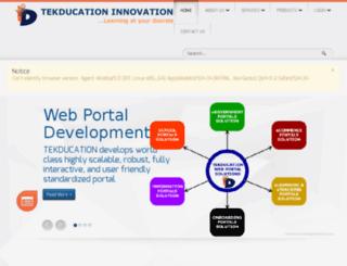 tekducation.com screenshot