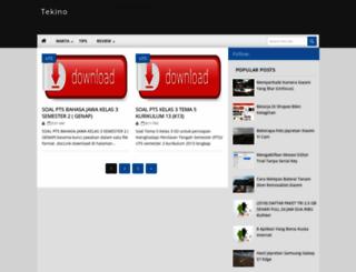 tekinoshare.my.id screenshot