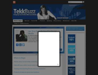 tekkbuzz.com screenshot