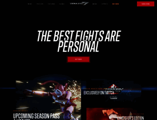 tekken.com screenshot