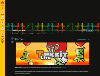 tekkitlite.wikia.com screenshot