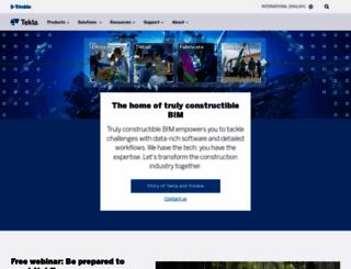tekla.com screenshot