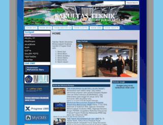 teknik.ums.ac.id screenshot