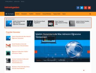 teknologadam.com screenshot
