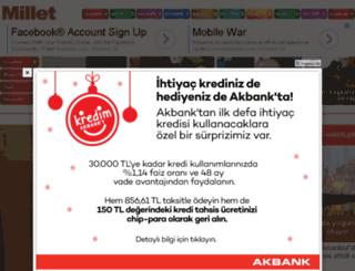 teknoloji.millet.com.tr screenshot