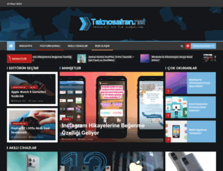 teknosafran.net screenshot