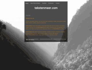 tekstenmeer.com screenshot