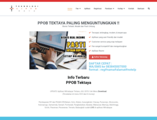 tektaya.web.id screenshot