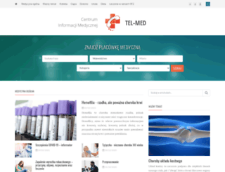 tel-med.pl screenshot