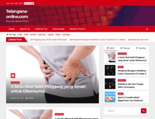 telangana-online.com screenshot