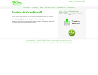 telbo.com screenshot