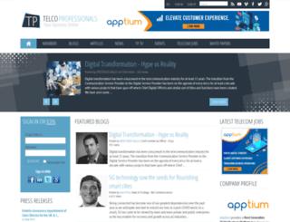 telcoprofessionals.com screenshot
