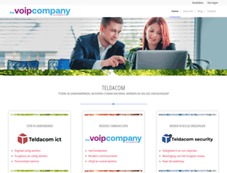 teldacom.nl screenshot