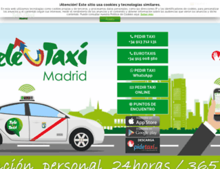 tele-taxi.es screenshot