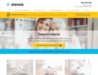 teleasistencia.com screenshot