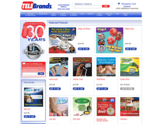 telebrands.net screenshot