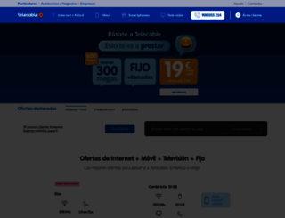telecable.es screenshot