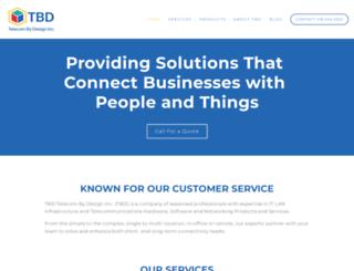 telecombydesign.ca screenshot