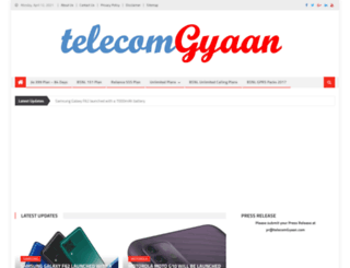 telecomgyaan.com screenshot