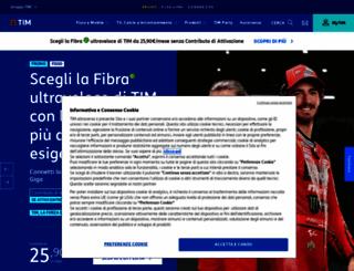 telecomitalia.it screenshot