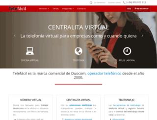 telefacil.com screenshot