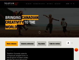telefilm.ca screenshot