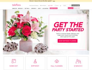 teleflora.org screenshot